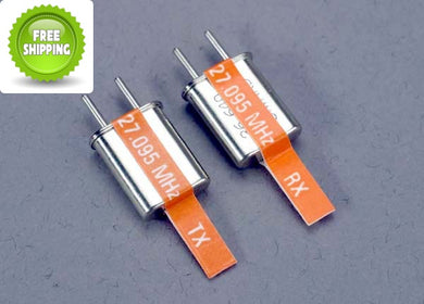 Traxxas TRA2033 Channel-3 Crystals Set (2) Orange-27.095 MHz