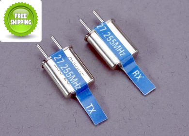 Traxxas TRA2036 Channel-6 Crystals Set (2) Blue-27.255  MHz
