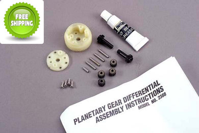 Traxxas TRA2388 Planetary Gear Differential: 1/10 Stampede 2wd & Rustler MSC