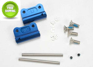 Traxxas TRA2798X Blue Aluminum Rear Suspension Mount: Nitro Slash 2wd/Stampede