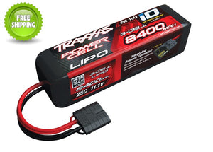 Traxxas TRA2878X LiPo Battery 8400mAh 11.1v/Volt 3-Cell 25C iD Power Cell