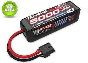 Traxxas TRA2888X LiPo Battery 5000mAh 14.8v 4-Cell 25C