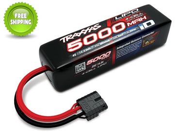 Traxxas TRA2889X LiPo Battery 5000mAh 14.8v 4-Cell 25C