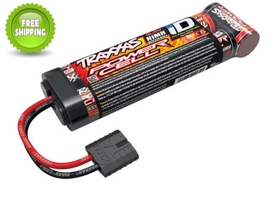 Traxxas TRA2923X NiMH Stick Pack Battery 8.4V 7-Cell 3000mAh TRX ID & Plug: 1/10