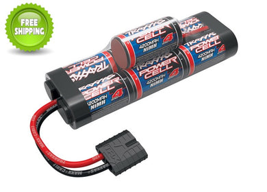 Traxxas TRA2951X Battery, Series 4 Power Cell, 4200mAh (NiMH, 7-C hump, 8.4V)