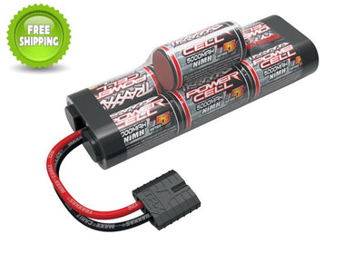 Traxxas TRA2961X 7-Cell 8.4V Hump 5000mAh NiMH Battery TRA ID: Stampede Rustler