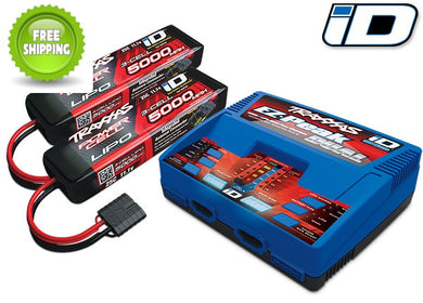 Traxxas TRA2990 Battery Pack & Charger Combo (Two-2872X One-2972): 1/6 X-Maxx