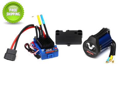 Traxxas TRA3350R Velineon VXL Waterproof Brush-Less ESC/Motor: Slash 4x4 & 2wd