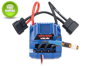 Traxxas TRA3496 Velineon VXL-8s Brush-Less Waterproof ESC Electronic Speed Control: 1/6 X-Maxx