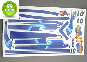 Traxxas TRA3514 Sticker / Decal Set: Nitro Vee Boat