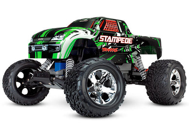 Traxxas TRA36054-4-GRN Green Stampede: 1/10 Scale Monster Truck