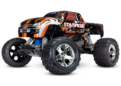 Traxxas TRA36054-4-ORNG Orange Stampede: 1/10 Scale Monster Truck