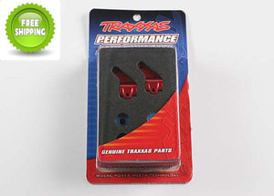 Traxxas TRA3636X Aluminum Steering Blocks Red: 1/10 Slash 2wd