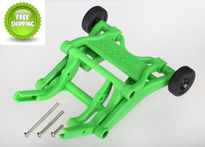 Traxxas TRA3678A Green Wheelie/Willy/Wheely Bar: 1/10 Slash 2wd Stampede Grave-Digger Monster Jam