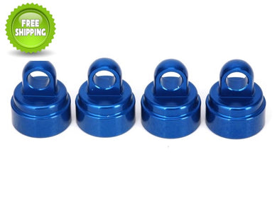 Traxxas TRA3767A Blue Aluminum Caps/4 for Ultra Shocks 1/10 Slash 2wd & 4x4 6808