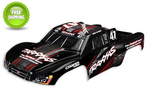 Traxxas TRA4418 Body, Nitro Slash, #47 Mike Jenkins (painted, decals applied)