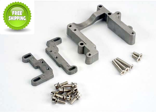 Traxxas TRA4460 Engine Mount Set: Nitro Rustler