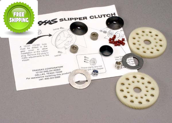 Traxxas TRA4615 Slipper Clutch Set: Stampede