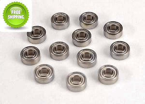Traxxas TRA4710 Ball-Bearings(12) 5x11x4mm (5x11mm): Nitro 4-Tec