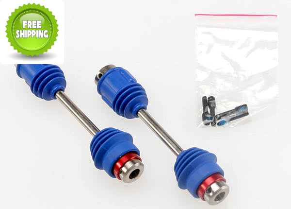 Traxxas TRA4951R Center Driveshafts Front/Rear: E-Maxx-3906