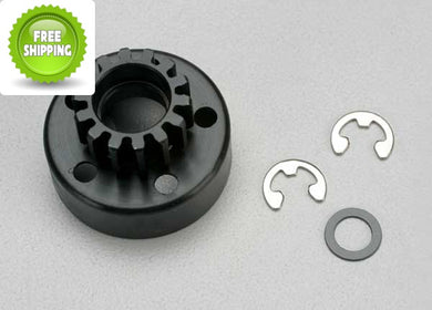 Traxxas TRA5214 Clutch Bell 14T/Tooth +Washer & 5mm E-Clip: Revo & Slayer