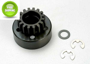 Traxxas TRA5215 Clutch Bell 15T/Tooth +Washer & 5mm E-Clip: Revo & Slayer
