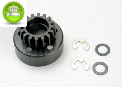 Traxxas TRA5216 Clutch Bell 16T/Tooth +Washer & 5mm E-Clip: Revo & Slayer