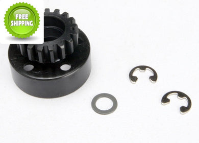 Traxxas TRA5217 Clutch Bell 17T/Tooth +Washer & 5mm E-Clip: Revo & Slayer
