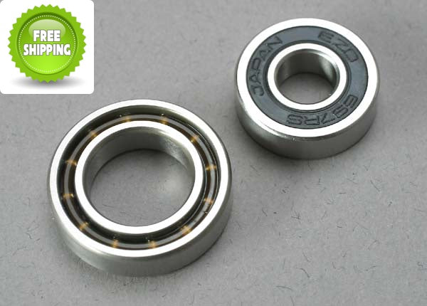 Traxxas TRA5223 Crankshaft Engine Bearings (2): TRX 3.3 2.5R & 2.5