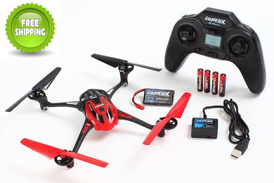 Traxxas TRA6608-RED LaTrax Alias, Red: Quad Rotor Helicopter