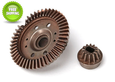 Traxxas TRA6779 Diff/Differential Rear Pinion & Ring Gears 12/47 T/Tooth: Slash 4x4 Rustler 4x4 Stampede 4x4