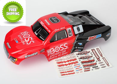 Traxxas TRA6831 Chad Hord Pre-Painted Body w/decals applied: Slash 2wd & 4x4