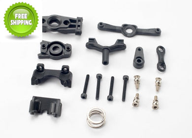 Traxxas TRA7043 Steering Arms & Shock Mounts: 1/16 Slash E-Revo Fiesta Summit