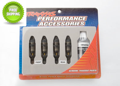 Traxxas TRA7061X GTR Shocks (4) Hard-Anodized 1/16 E-Revo
