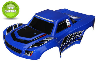 Traxxas TRA7618 Blue Body LaTrax 1/18 Desert PreRunner (Painted with Decals)