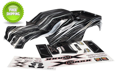 Traxxas TRA7711X  ProGraphix/Pro-Graphics Body +Decals (Needs Paint): 1/6 X-Maxx