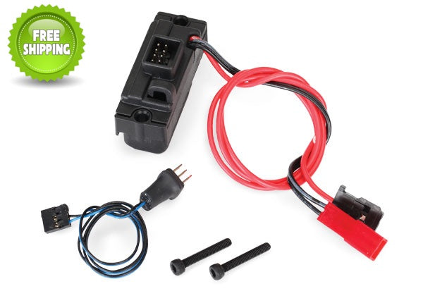 Traxxas TRA8028 Power Supply for LED Lights 3V 0.5-amp +Wire Harness: 1/10 TRX-4