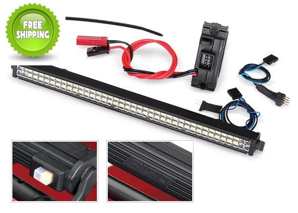 Traxxas TRA8029 LED Lightbar Kit (Rigid), Power Supply: 1/10 TRX-4