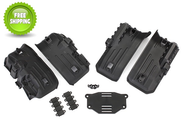 Traxxas TRA8072 Front & Rear Inner Fenders(2) Rock Light Covers(8): 1/10 TRX-4