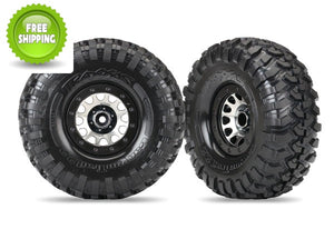 Traxxas TRA8172 Canyon Trail 2.2 Tires/Method 105 Bead-Lock Wheels: 1/10 TRX-4