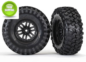 Traxxas TRA8272 Canyon Trail 1.9 Tires with TRX-4 Wheels Glued (Set of 2): TRX-4