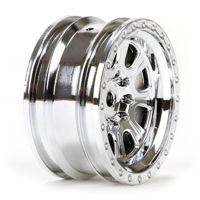Vaterra VTR43047 Chrome 8-Spoke 1.9