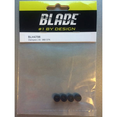 Blade BLH4706 Dampners / Dampers (4): 360 CFX