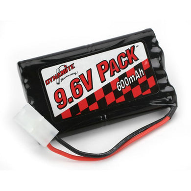 Dynamite DYN1300 Ni-Cad/NiCd Toy Battery Pack 9.6V/Volt 8-Cell 600mAh-Nikko/Tyco