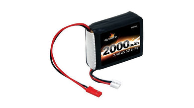 Dynamite DYN1419 7.4V 2000mAh 2S 5C LiPo Receiver Pack JST-XH connector: 1/8