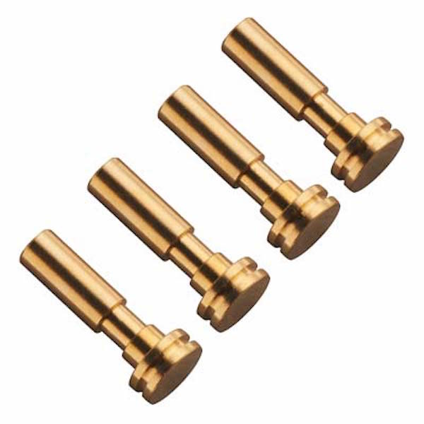 Hot Racing YEX04M04 Brass Low Friction King Pins (4): Axial Yeti XL