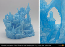 "Load image into Gallery viewer, PLA Crystal Clear ""Iceland Blue"""