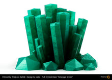 "Load image into Gallery viewer, PLA Crystal Clear ""Smagard Green"""