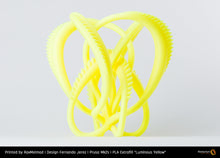 "Load image into Gallery viewer, PLA Extrafill ""Luminous Yellow"""