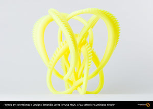 "PLA Extrafill ""Luminous Yellow"""